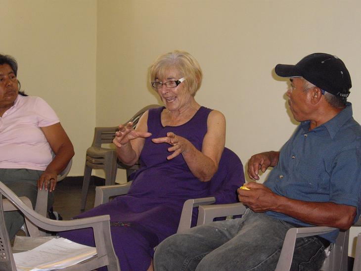 Workshop in El Salvador